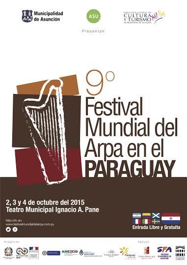 Festival Mundial del arpa en el paraguay 2015